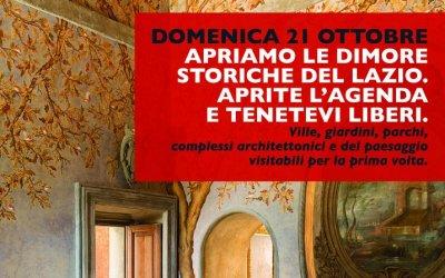 Domenica 21 ottobre Genazzano protagonista della Giornata delle Dimore Storiche del Lazio.