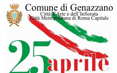 25 Aprile 2018: Festa della Liberazione.