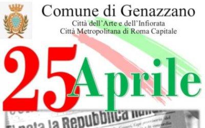 25 Aprile 2019: Festa della Liberazione
