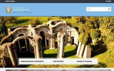 Da oggi è on line il nuovo sito web del Comune di Genazzano