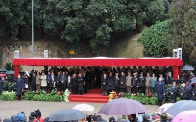 Alle Fosse Ardeatine, nel 70° dell'eccidio, onorata la memoria di Giuseppe Emilio D'Amico