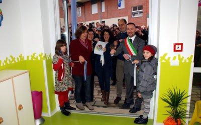 Inaugurato dal presidente Nicola Zingaretti e dal sindaco Fabio Ascenzi il nuovo asilo nido...