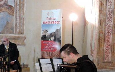 Concerto di Capodanno con la fisarmonica di Claudio Ginobi