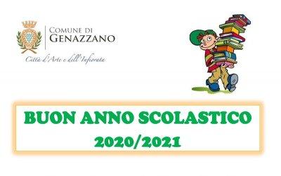 AVVIO ANNO SCOLASTICO 2020/2021